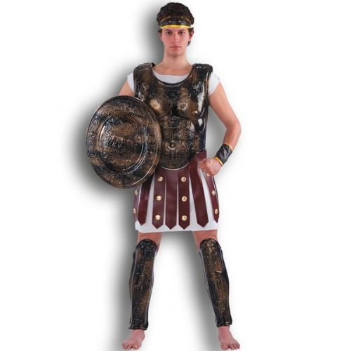 Mens Breast Plate for Roman in PHB Sparticus Caesar Cesar Rome Greek Gladiator Toga